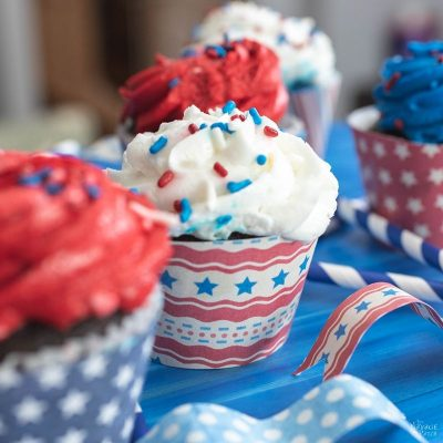 Vintage Style Patriotic Party Printables