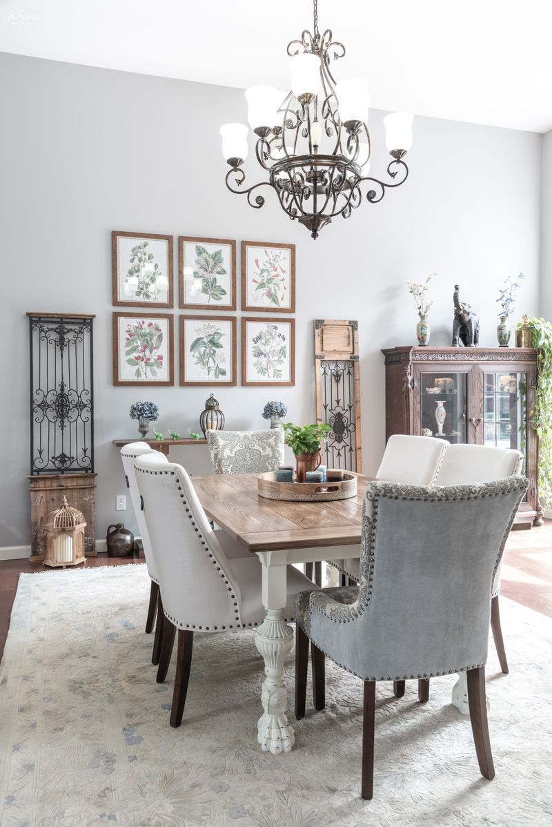 Dining Room Reveal | DIY dining room makeover with the list of decor sources | A great list of DIY projects you'll need for an ecletcic dining room makeover | Eclectic dining room ideas | Dining room decor ideas | #TheNavagePatch #RoomMakeover #DiningRoom #DIY #Makeover #RoomReveal #homedecor #Farmhouse #FrenchCountry #Eclectic | TheNavagePatch.com