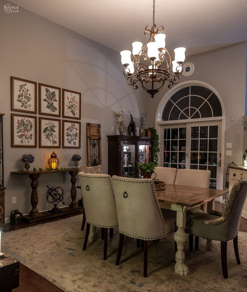Dining Room Reveal - TheNavagePatch.com