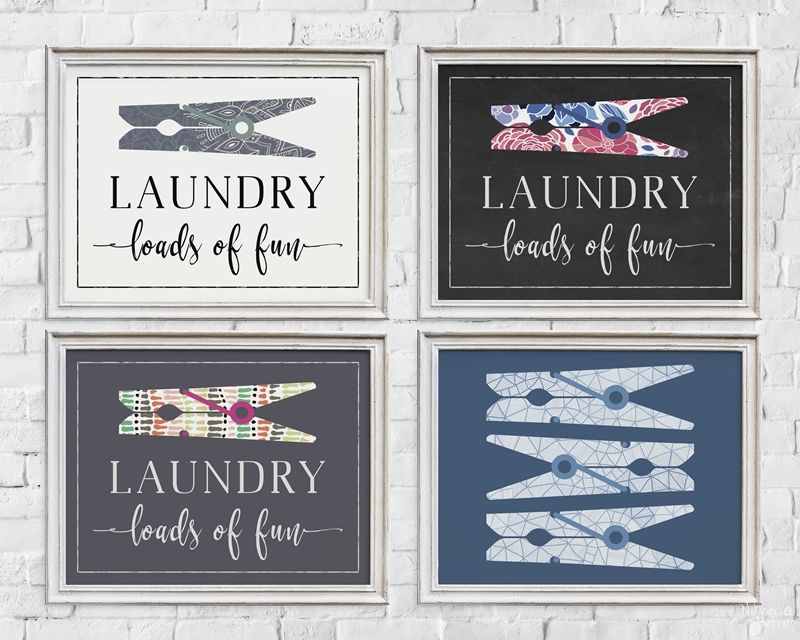 photograph regarding Free Printable Laundry Room Signs identify No cost Printable Wall Artwork for Laundry Space - The Navage Patch