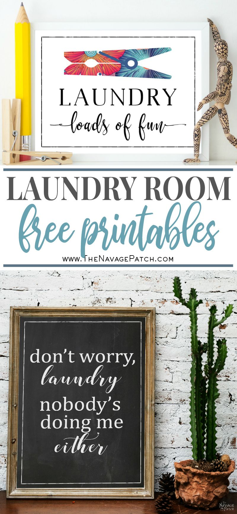 Free Printable Wall Art For Laundry Room The Navage Patch
