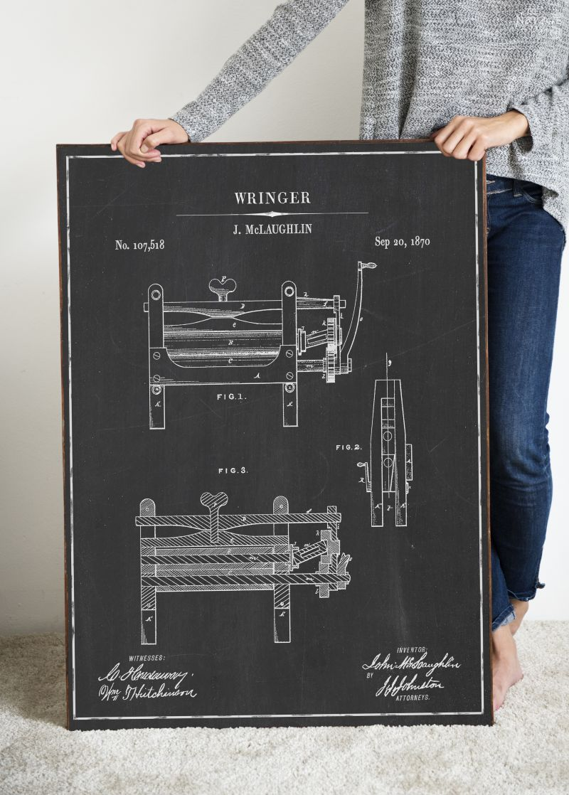 Laundry Room Vintage Patent Prints | Free Vintage Blueprints and patent drawings | Free Laundry Room Wall Art | Free Vintage Laundry Patent Posters | Free Vintage Blueprint and Diagrams | #TheNavagePatch #FreePrintable #Laundry #PatentArt #VintagePrintable #Blueprint #FreeArt #Oversize #WallArt #GalleryWall | Engineering print | DIY Industrial Style Home Decor | TheNavagePatch.com