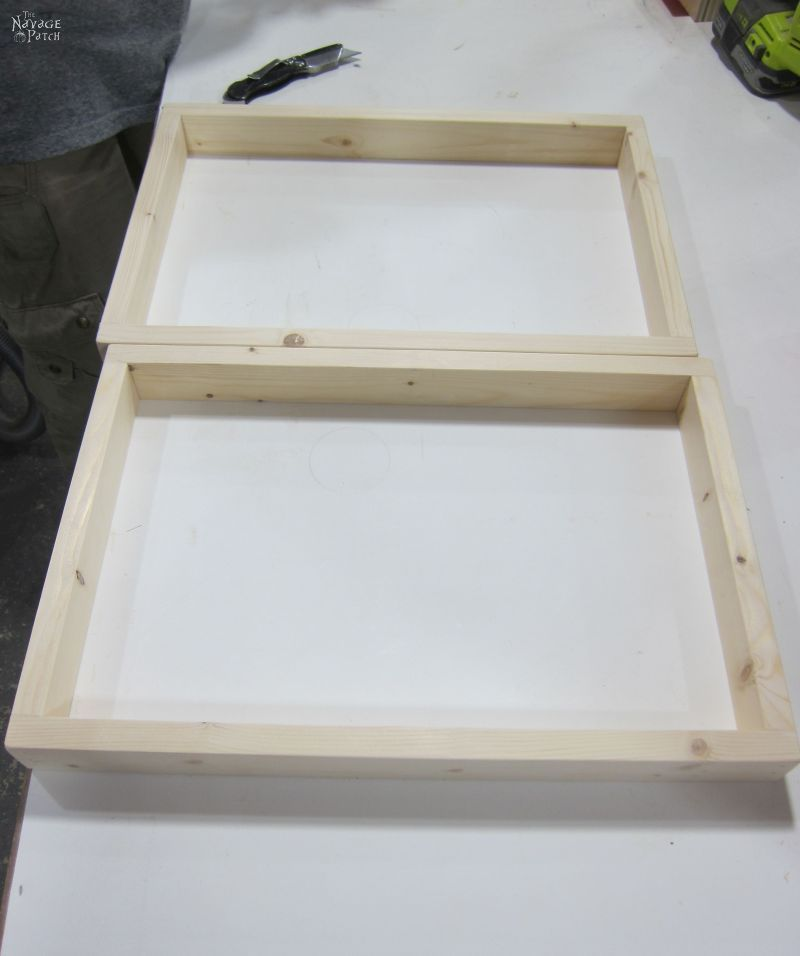 Simple DIY Picture Frames - The Navage Patch