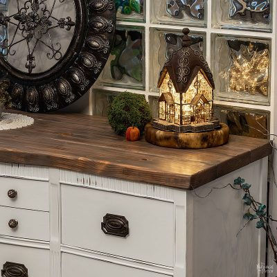 Vintage Buffet Makeover