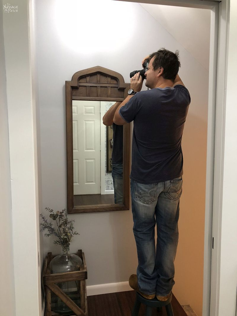 Arched Mirror Makeover The Navage Patch