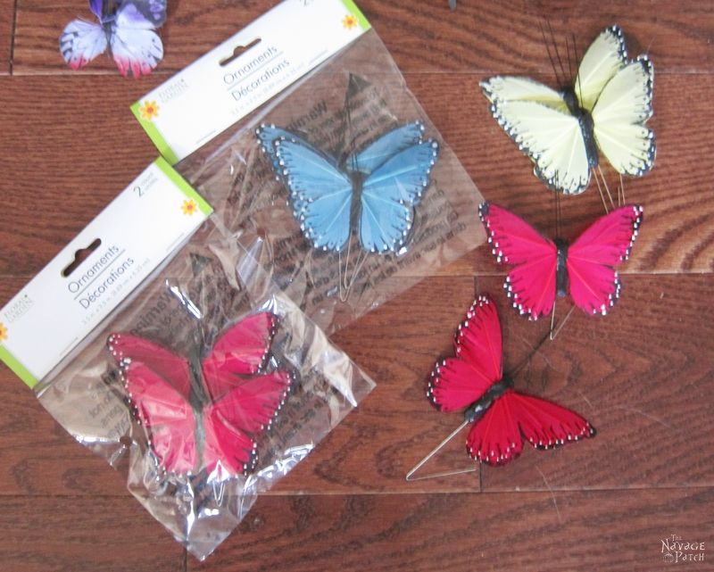 Halloween Butterfly Specimens | Grandin Road Inspired DIY Halloween decor | Beautiful butterfly decoration for girls room | DIY Dollar Store Halloween decoration | Upcycled and Repurposed Halloween decor | #TheNavagePatch #Upcycled #halloweendecorations #halloween #easydiy #DIY #DollarTree #DollarStore #halloweencrafts #HarryPotter #halloweenparty #butterfly #GrandinRoad #knockoff | TheNavagePatch.com