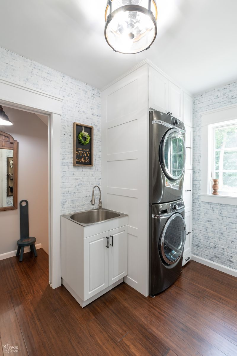 Laundry Room Makeover Reveal The Navage Patch
