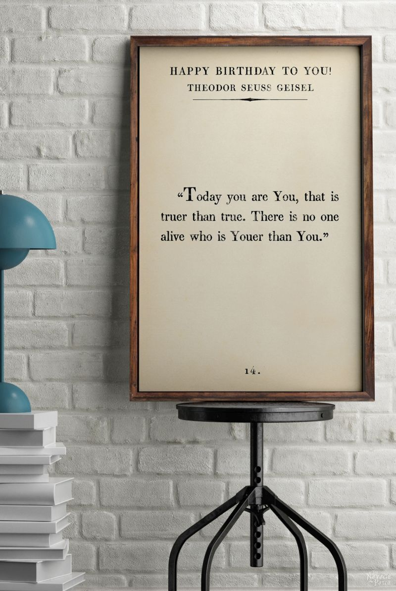 Children's Book Page Art Prints | Amazing set of free printable children's book quotes – The Velveteen Rabbit by Margery Williams, Winnie The Pooh by A. A. Milne, Roald Dahl, Theodor Seuss Geisel and more | Free printable oversize typography wall art |#TheNavagePatch #FreePrintable #FreeWallArt #easydiy #BookPage #Quotes #Typography #TheVelveteenRabbit #WinnieThePooh #DrSeuss #KidsRoom | TheNavagePatch.com