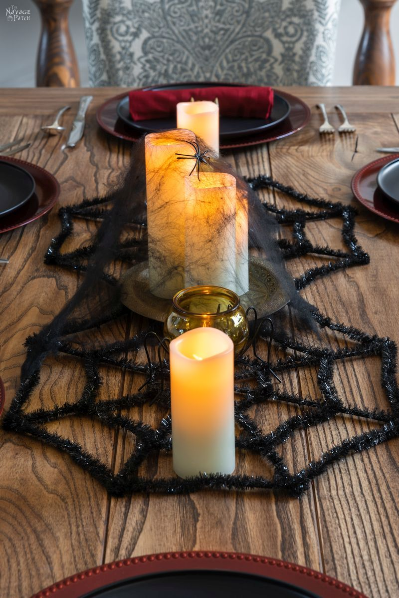 diy halloween napkin rings gold fang napkin rings for a beautiful halloween tablescape easy