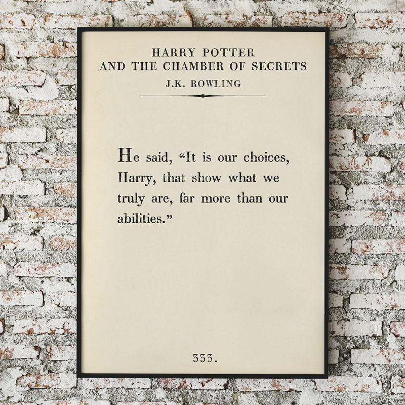 Free Printable Book Page Quote Art | Free printable oversize book page art | Amazing set of free printable book page quotes from famous authors | Free oversize typography wall art | Easy DIY farmhouse style wall decor | Ready to print gallery wall | #TheNavagePatch #FreePrintable #FreeWallArt #easydiy #GalleryWall #BookPage #Quotes #Typography | TheNavagePatch.com