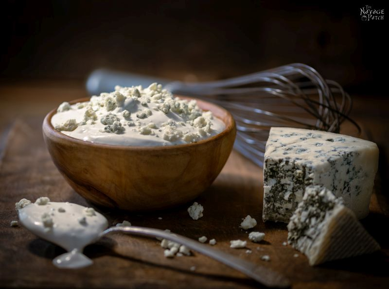 Greg's Blue Cheese Dressing - TheNavagePatch.com