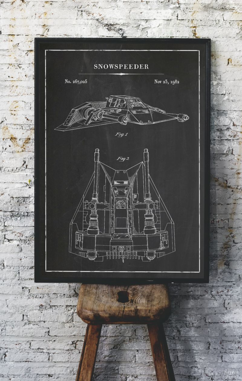 image about Printable Star Wars Images identify No cost Printable Star Wars Blueprints - The Navage Patch