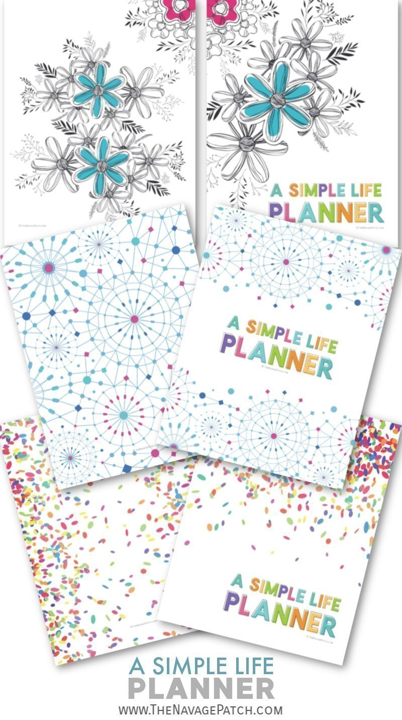 With this FREE printable Life Planner organize your daily-weekly-monthly schedule, take control of your finances, track your goals and habits, plan your meals, keep your important information all in one binder! | Free organization printables | Free printable work planner | Home binder free printables | #TheNavagePatch #FreePrintable #LifePlanner #Homebinder #Calendar #ChoreChart #Freeplanner | TheNavagePatch.com