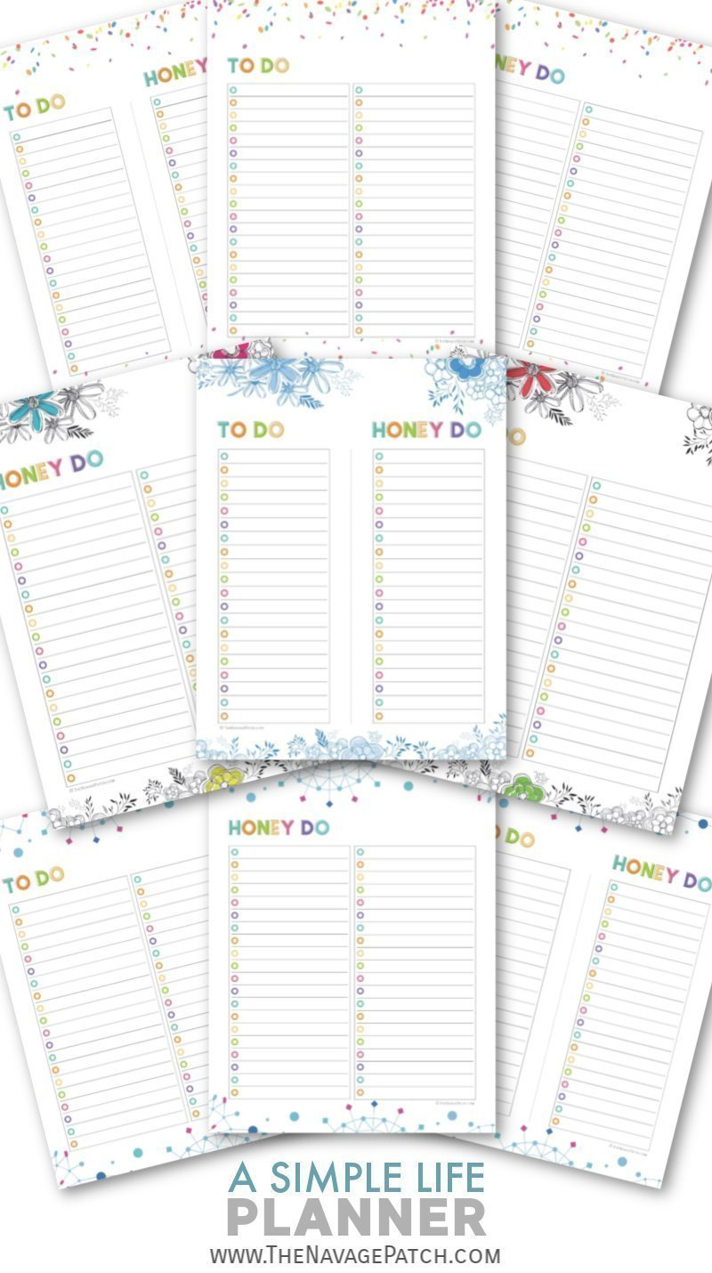 With this FREE printable Life Planner organize your daily, weekly and monthly schedule, take control of your finances, track your goals and habits, plan your meals, and keep your important information all in one binder! | Free organization printables | Free printable planner | Daily planner printables | Weekly planner printables | Free printable weekly meal planner | #TheNavagePatch #FreePrintable #LifePlanner #Calendar #Freeplanner | TheNavagePatch.comWith this FREE printable Life Planner organize your daily, weekly and monthly schedule, take control of your finances, track your goals and habits, plan your meals, and keep your important information all in one binder! | Free organization printables | Free printable planner | Daily planner printables | Weekly planner printables | Free printable weekly meal planner | #TheNavagePatch #FreePrintable #LifePlanner #Calendar #Freeplanner | TheNavagePatch.com