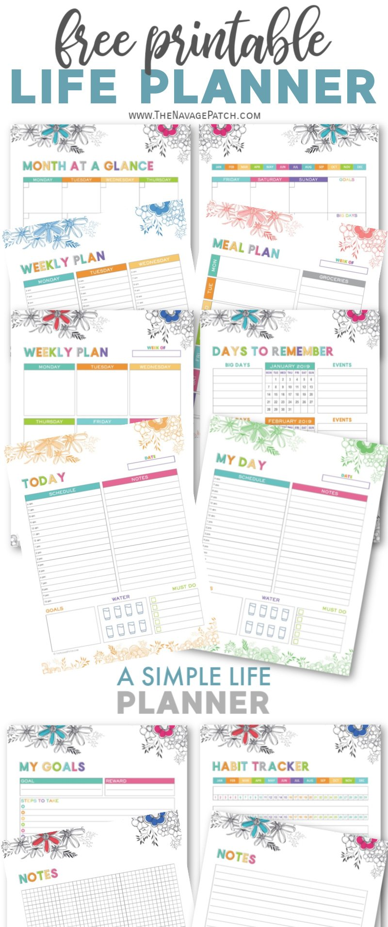 Free Printable Adult Coloring Calendars for 2021 - The ...