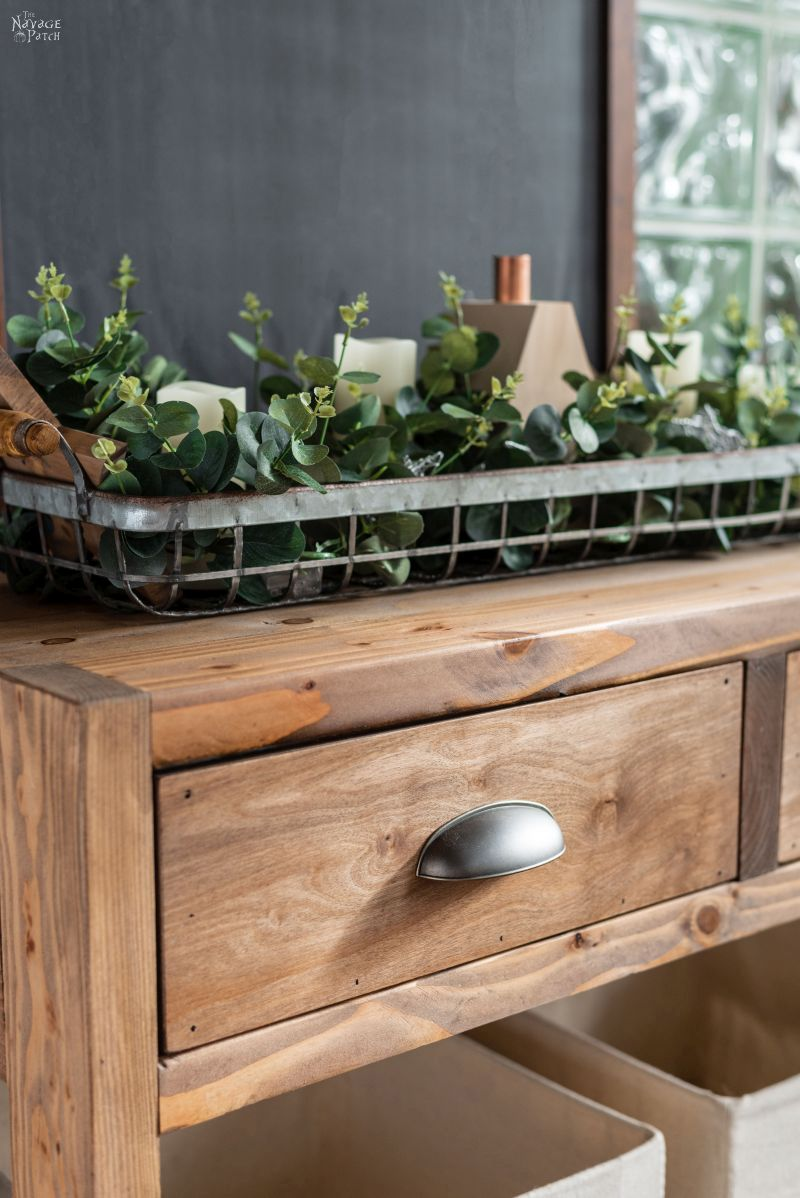 Diy Rustic Console Table With Free Plans The Navage Patch