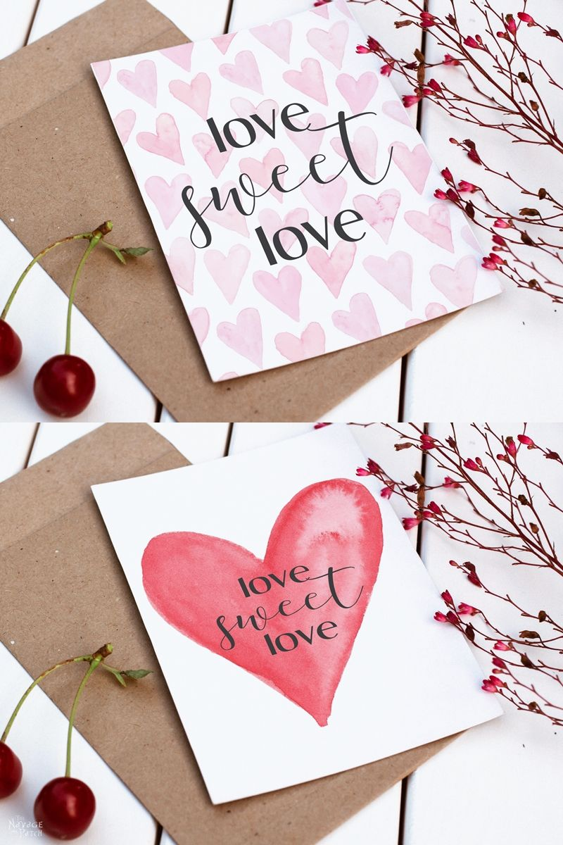 Love Sweet Love free Valentine's Day printables