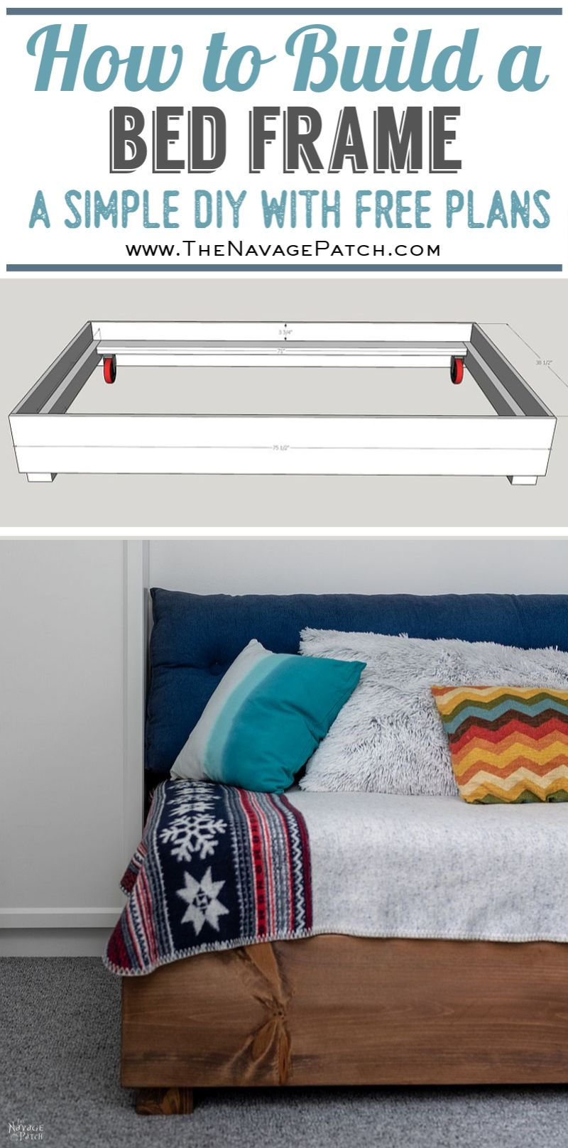 DIY Daybed pin image