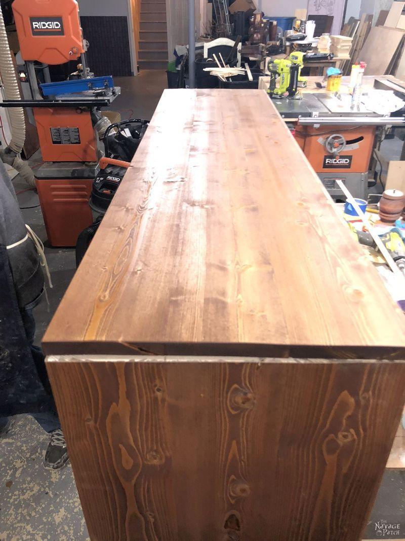 building an ikea kallax hack tv stand
