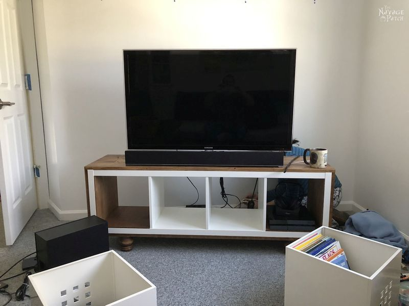 Ikea Kallax Entertainment Unit