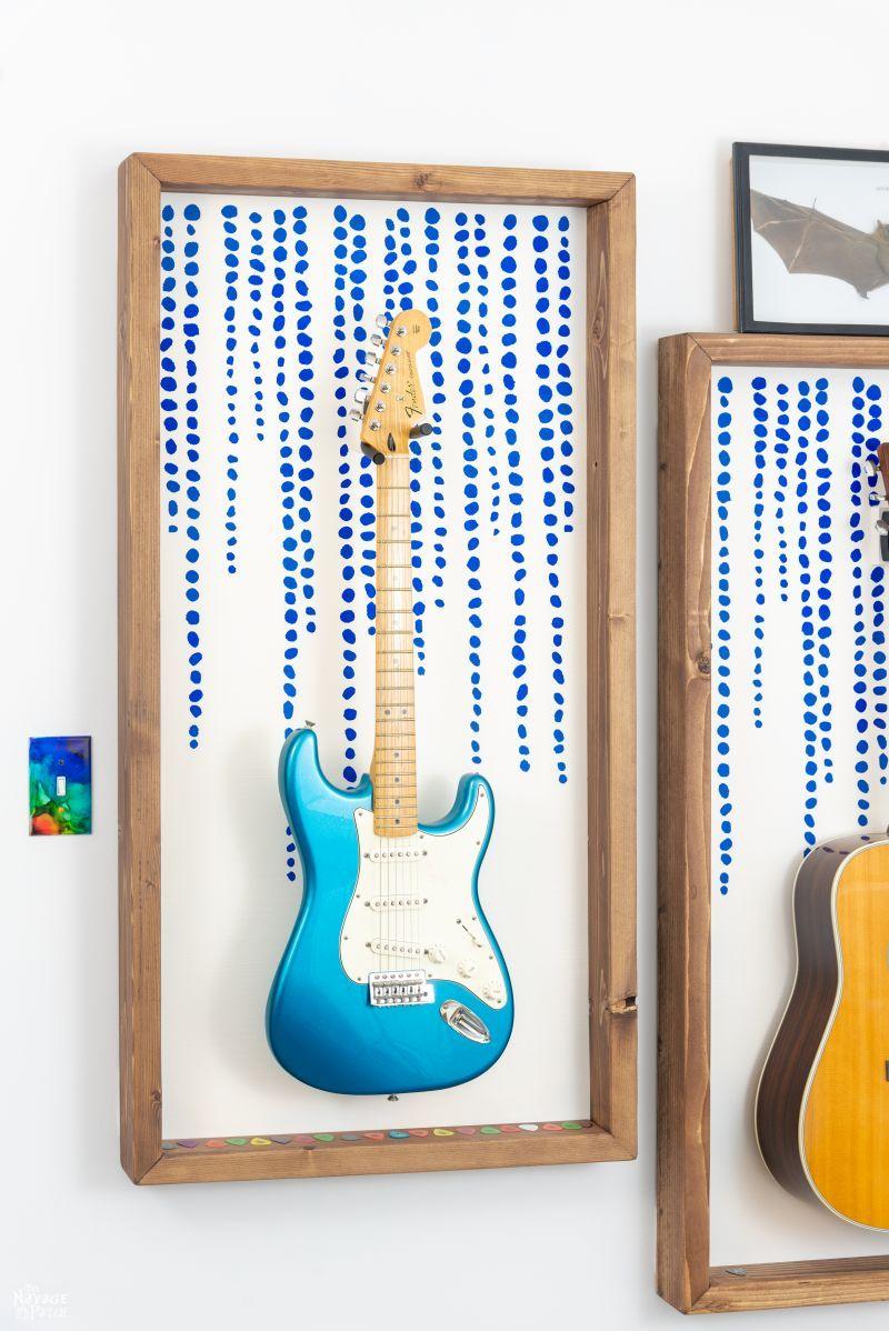 DIY Guitar Display Frame