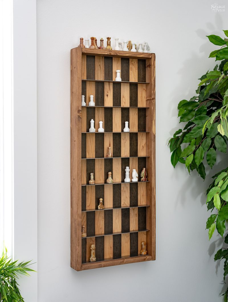 Diy Vertical Chess Board Playable Art The Navage Patch