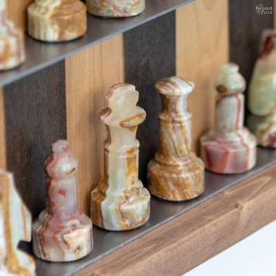 DIY Vertical Chess Board featured image