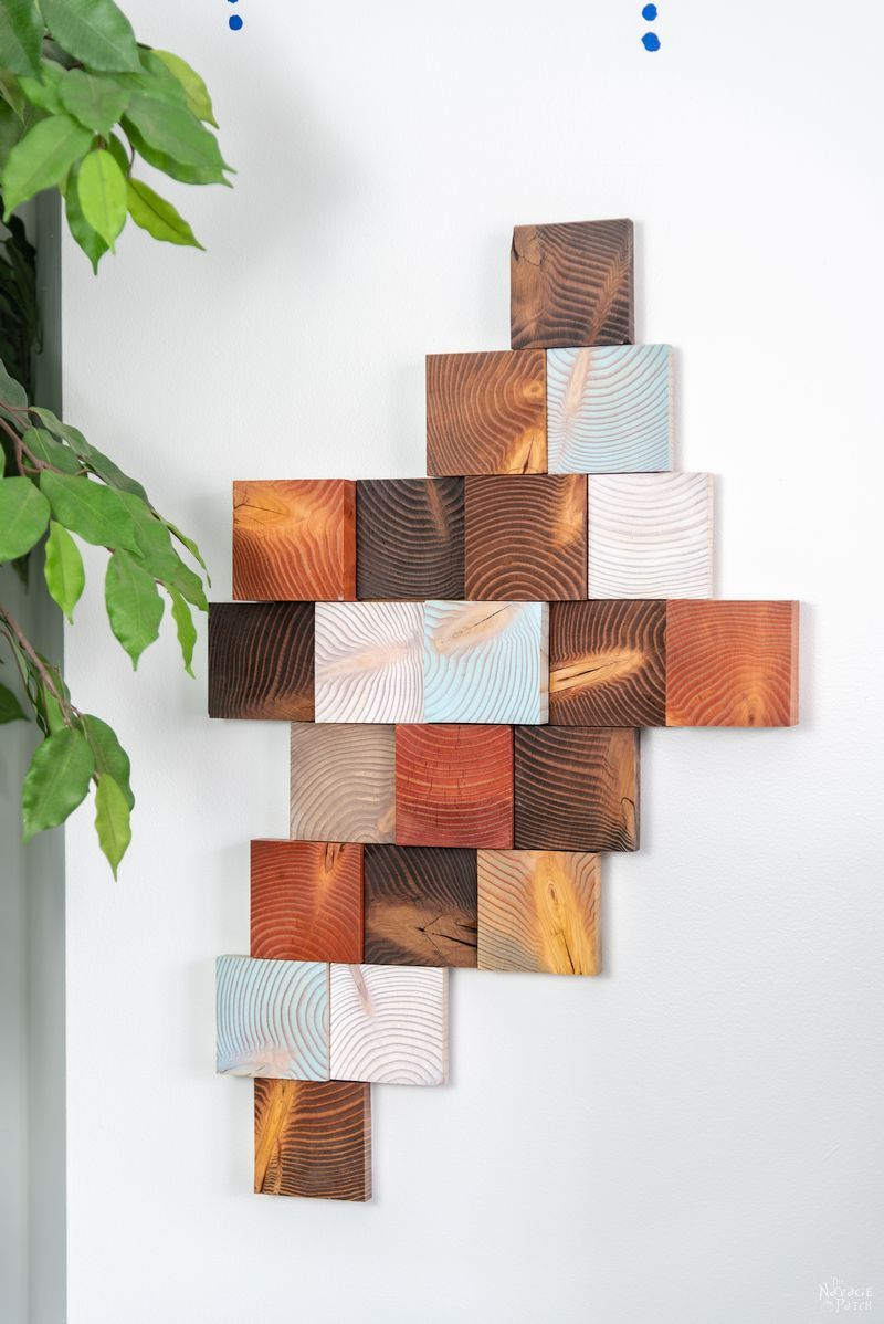 DIY wood wall art