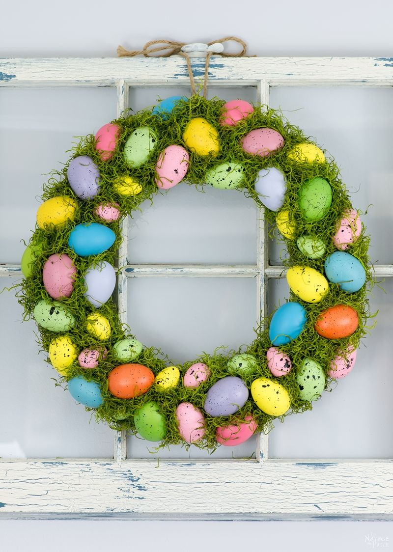 Cheerful Spring Wreath by The Navage Patch