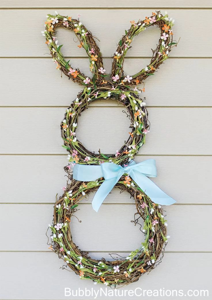 Bunny Wreath by Sprinkle Some Fun