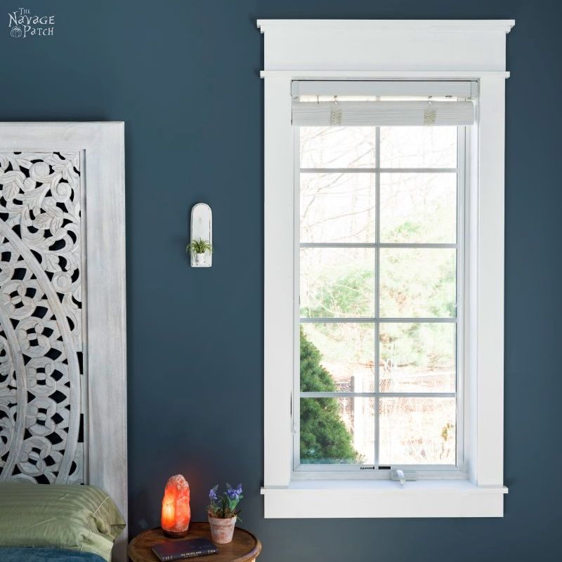 DIY Craftsman Style Trim for Window and Doors