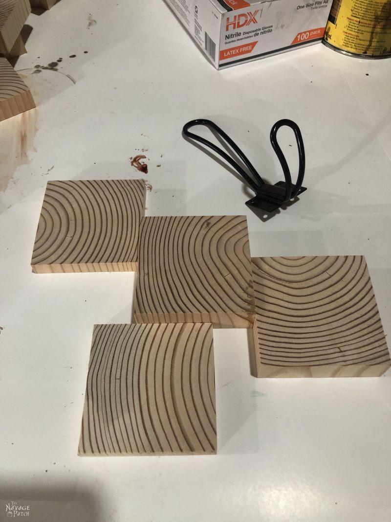 pine squares