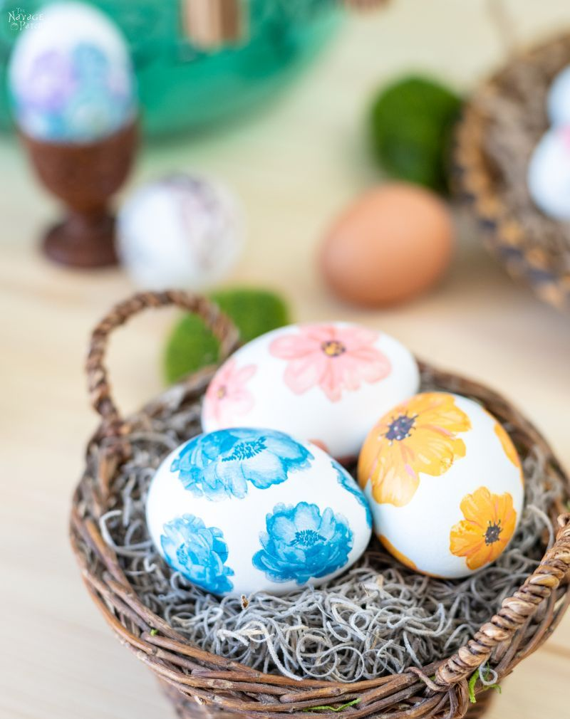 Watercolor Tattoo Easter Eggs