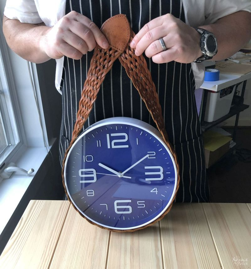 DIY Belt Clock