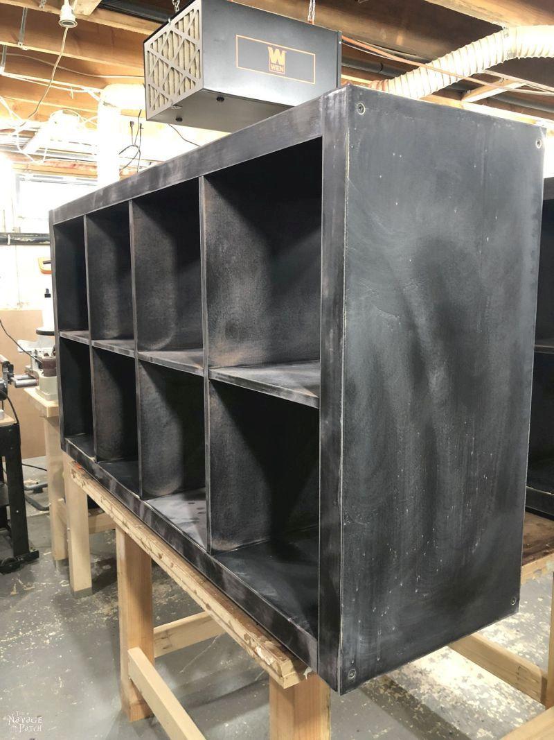 sanded kallax ready for primer