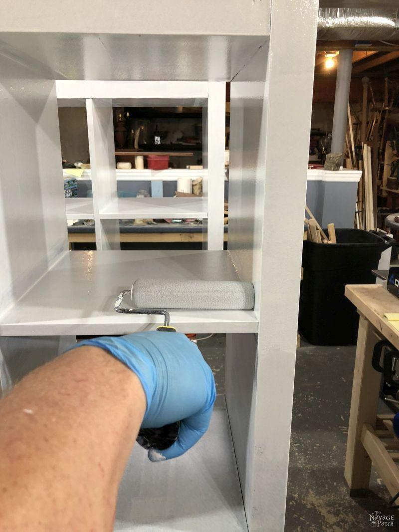 painting IKEA furniture with benjamin moore
