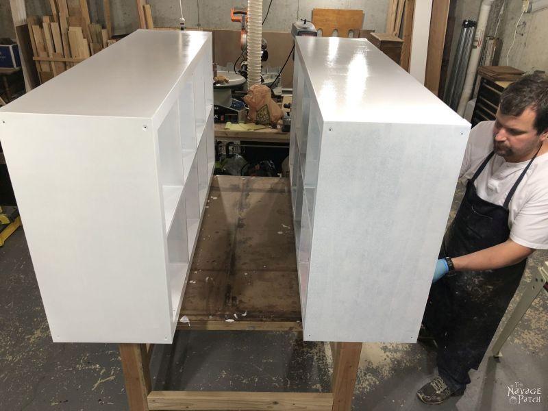 painting laminate furniture with benjamin moore paint