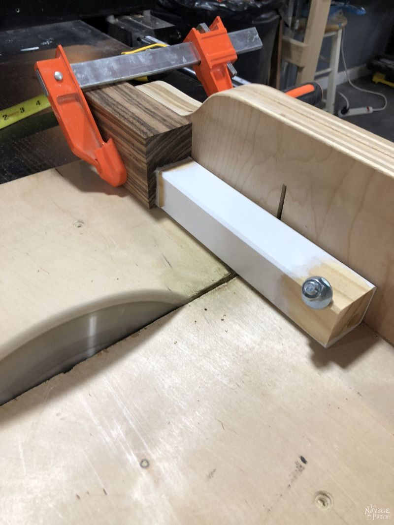 ikea tarva leg on a table saw