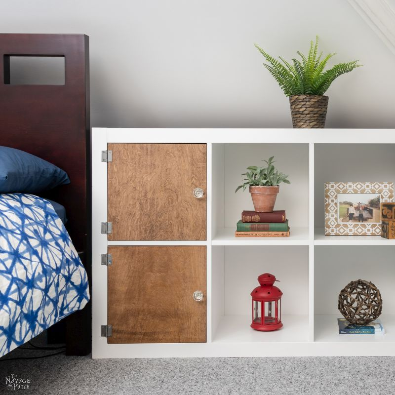 Painting IKEA Furniture & Kallax Makeover | TheNavagePatch.com