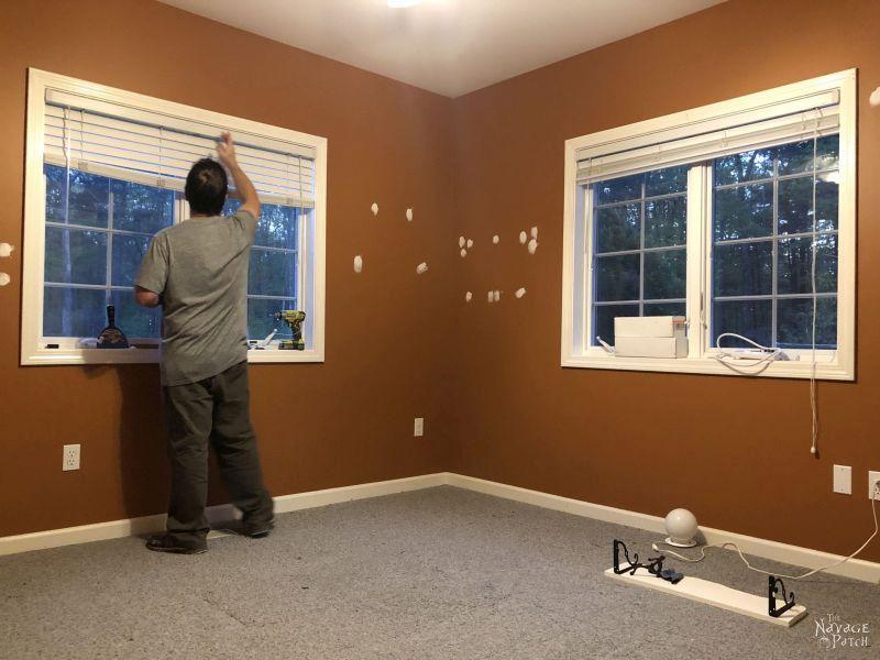 repairing wall holes