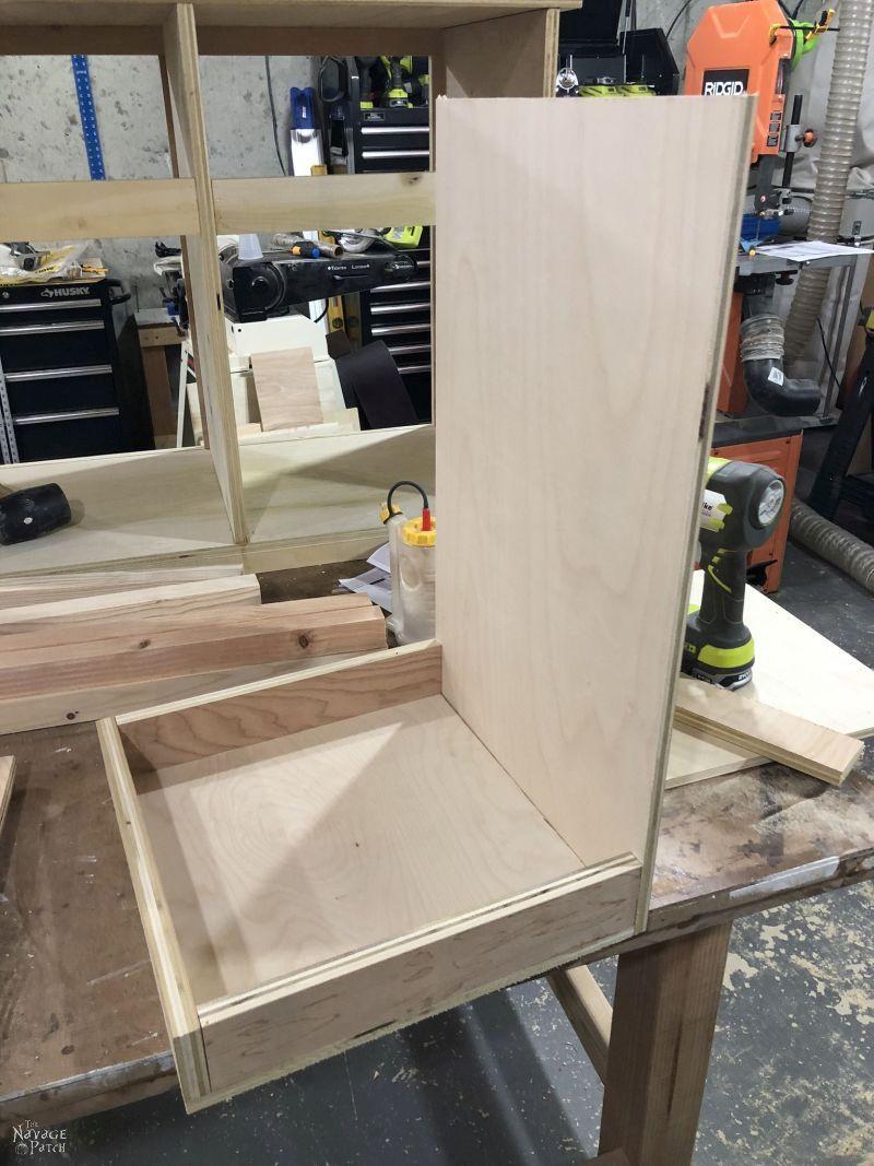 building a hamper door from plywood
