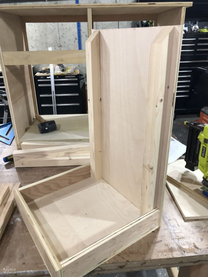 Picture of: Diy Tilt Out Laundry Hamper The Navage Patch