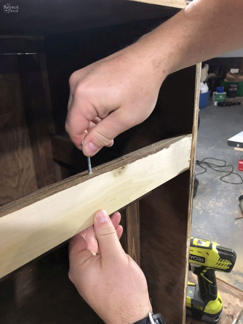 putting a screw in wood