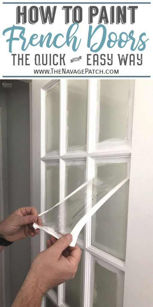 How To Paint French Doors The Easy Way The Navage Patch