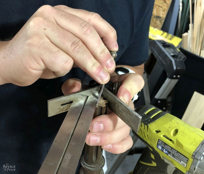 finding the center of a spindle
