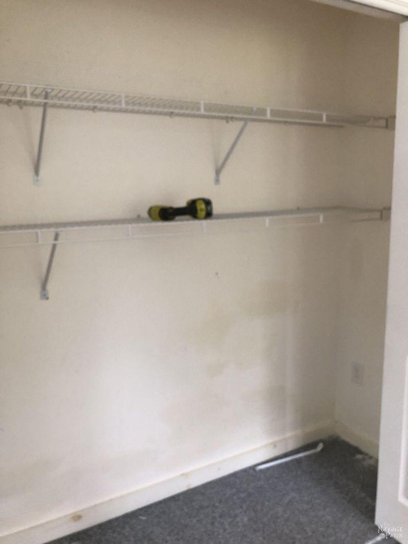 empty closet