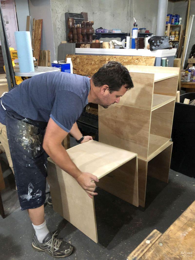 West Elm Inspired Diy Industrial Bookshelf With Free Plans