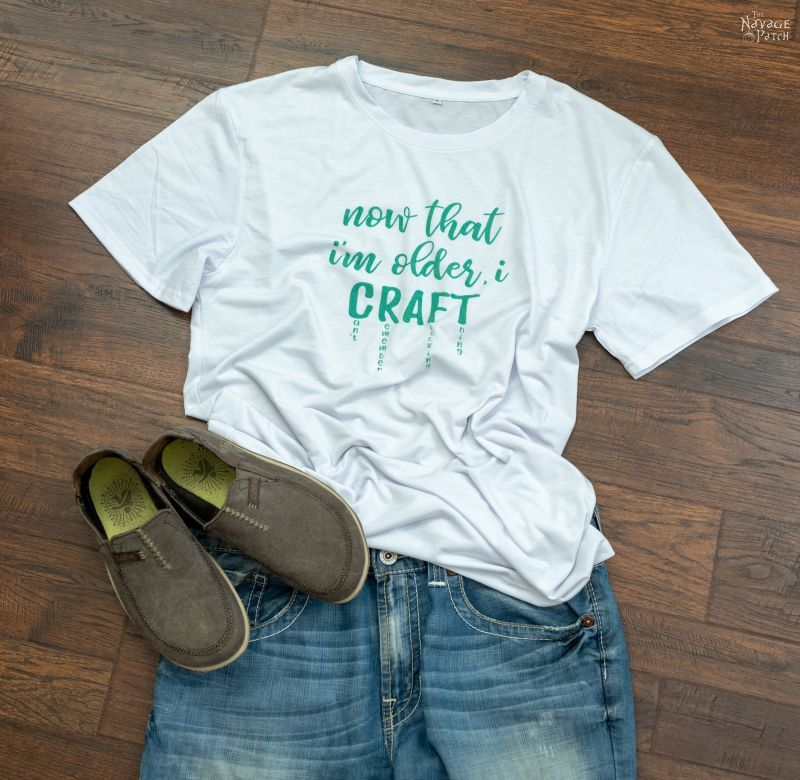 cricut infusible ink t shirt