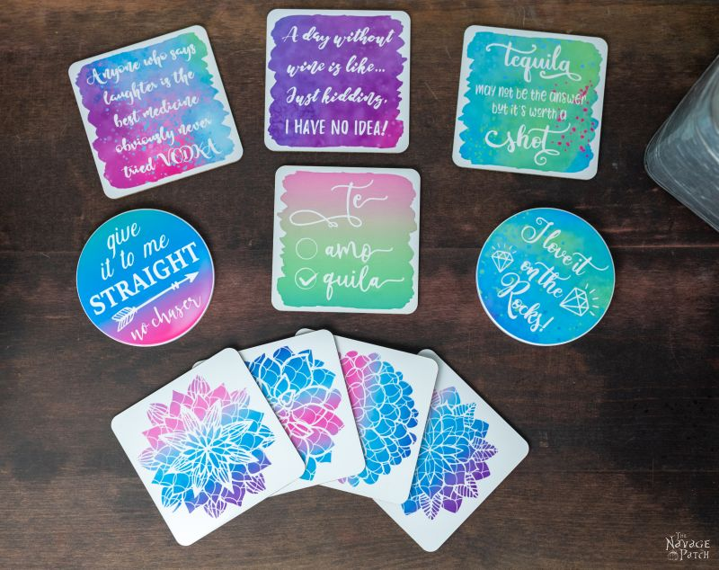 Cricut Infusible Ink Coaster