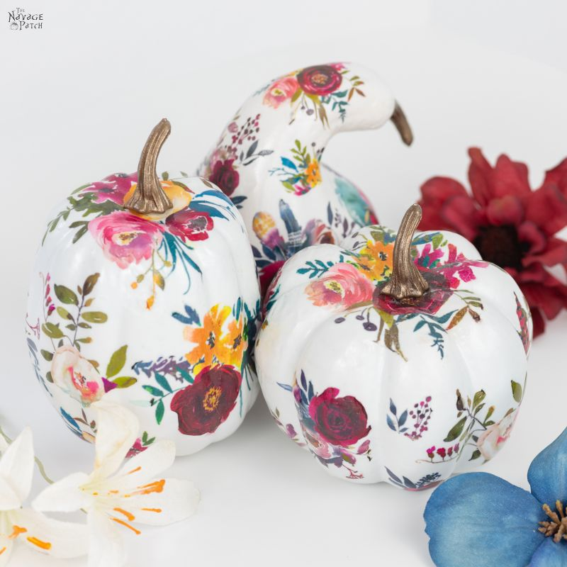 DIY Tattoo Pumpkins